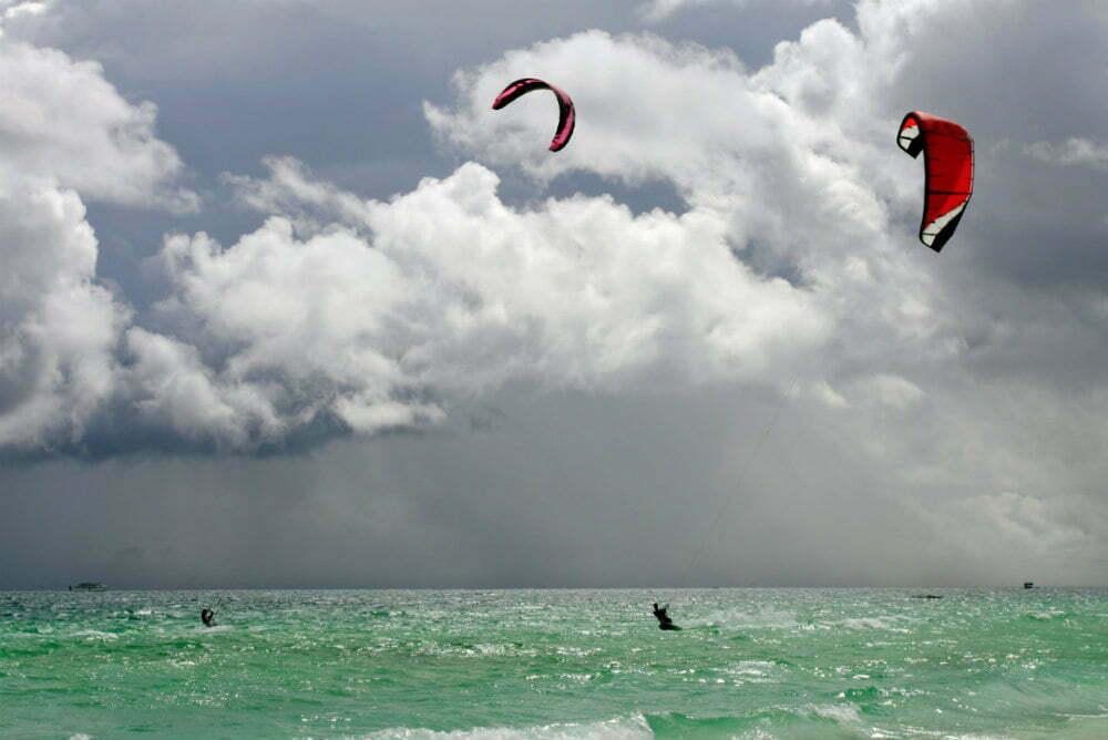 Bulabog Beach Boracay Kitesurfing Beach