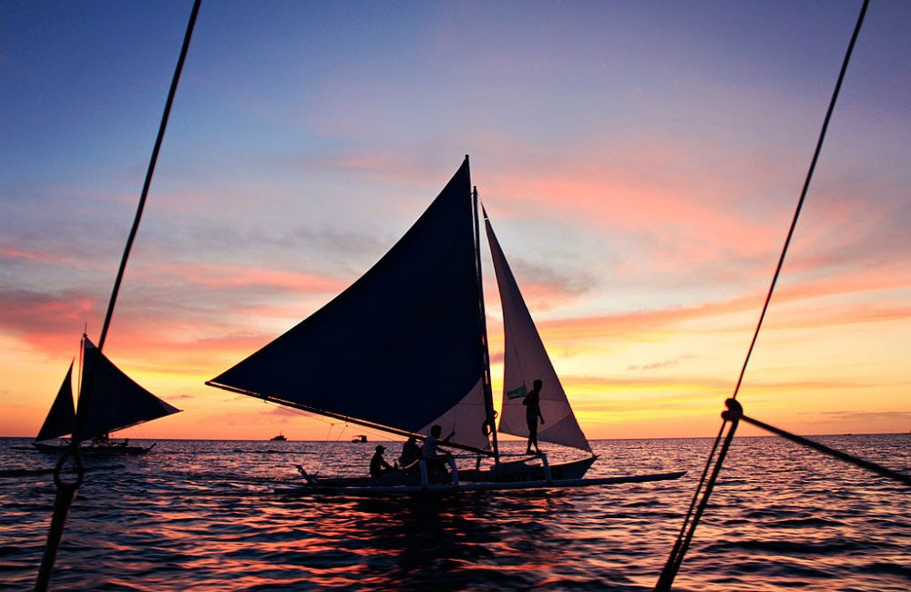 Things to Do in Boracay at Night - Paraw Sailing Sunset