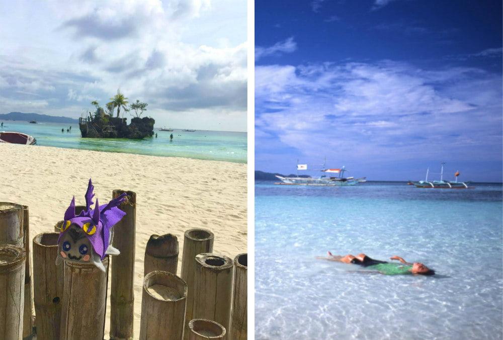 Белый пляж на острове Боракай-красивые места на Филиппинах