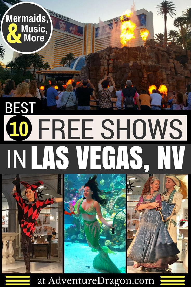 Best Free Shows in Las Vegas