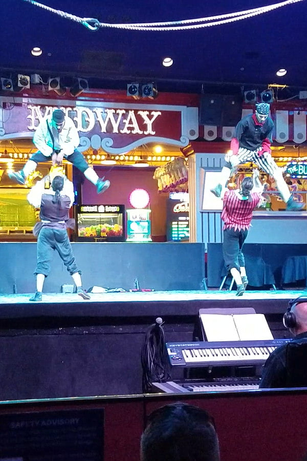 Best Free Shows in Las Vegas - Free Circus Show at Circus Circus Hotel