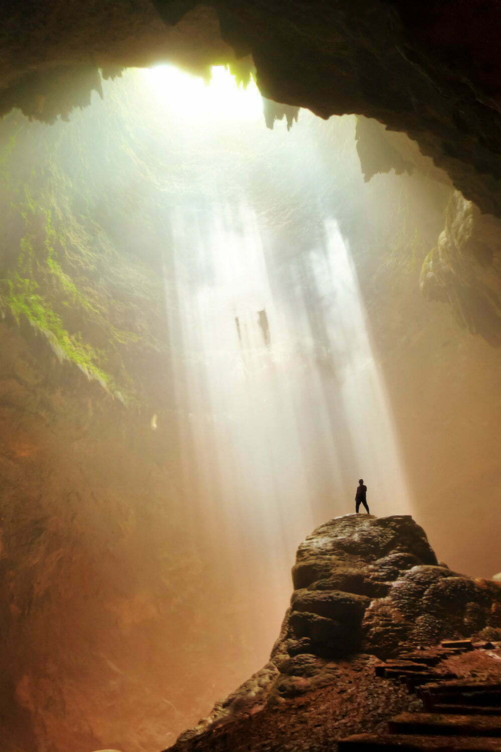 Goa Jomblang Cave Indonesia Photography - Beautiful Places to Visit in Indonesia
