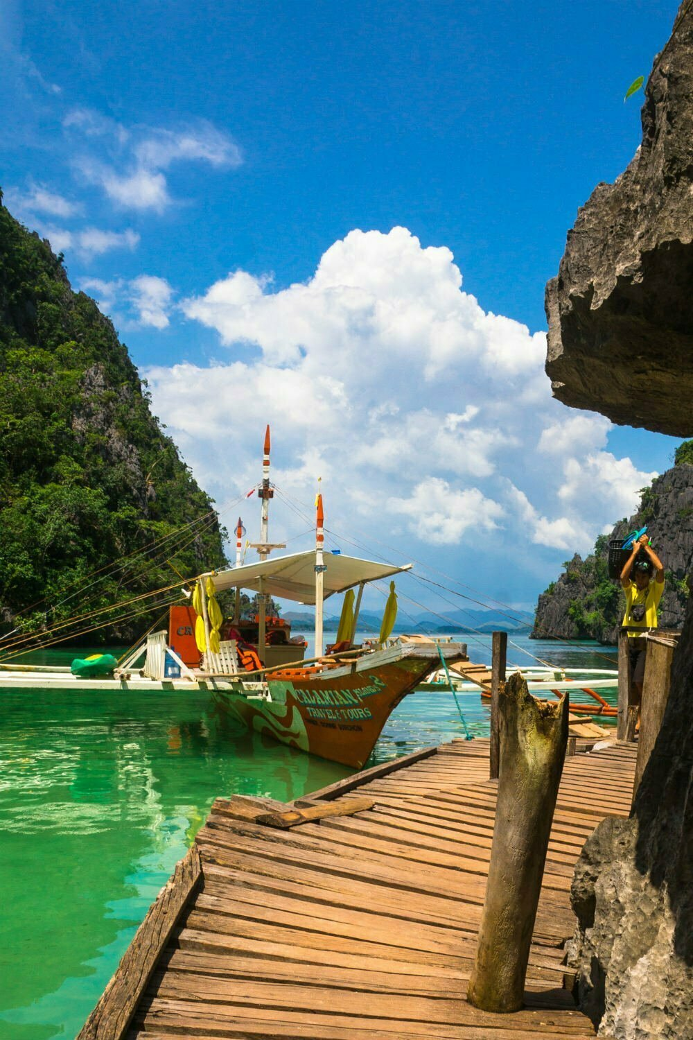 Twin Lagoon on Coron Island - Most Beautiful Places in the Philippines Photos