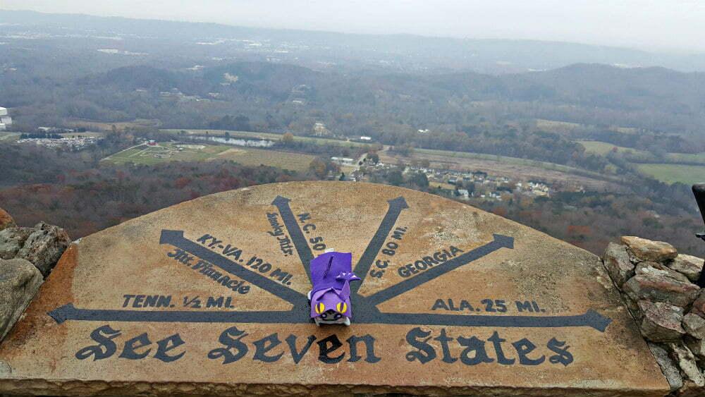 See Seven States Rock City GA Rock City TN