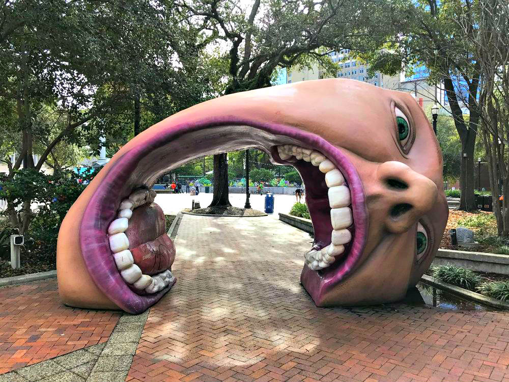Jacksonville MOSH Mouth Hemming Park Free Things to do in Jacksonville Florida