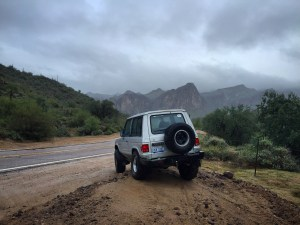 First generation Montero in the mountains