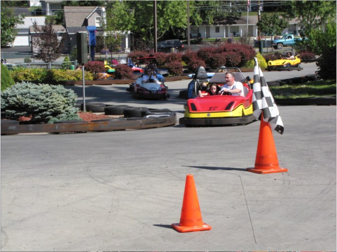Outdoor Go Karts