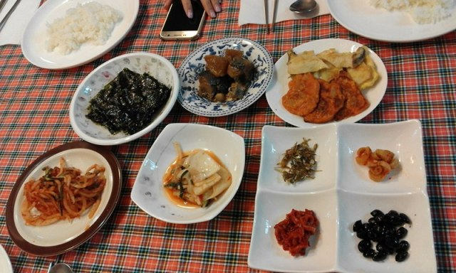 We started each morning with a home-made traditional Korean breakfast.