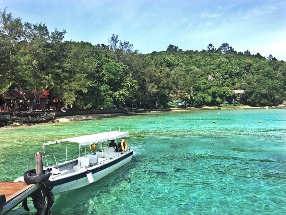 Kota Kinabalu Island Hopping Tour - manukan island