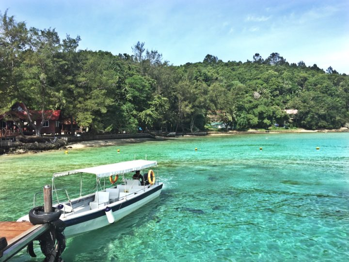 Manukan Island - view from the dock