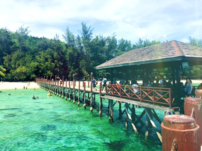 Let's visit Manukan Island