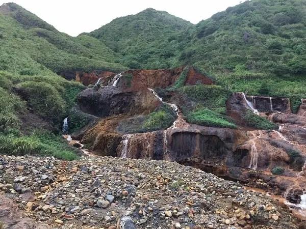 Jiufen Ruifang Golden Waterfall
