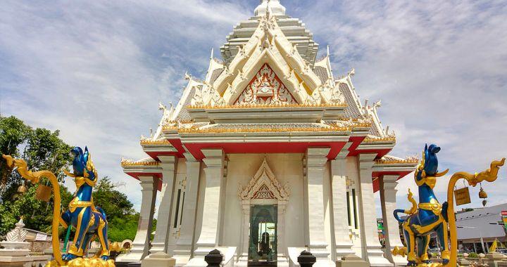 The Chao Por Lak Muang Shrine in Khon Kaen