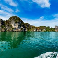 Phang Nga on the shore of the Andaman Sea