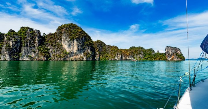 Hong island at Phang Nga bay