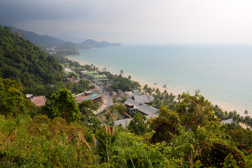 A beach in Koh Chang