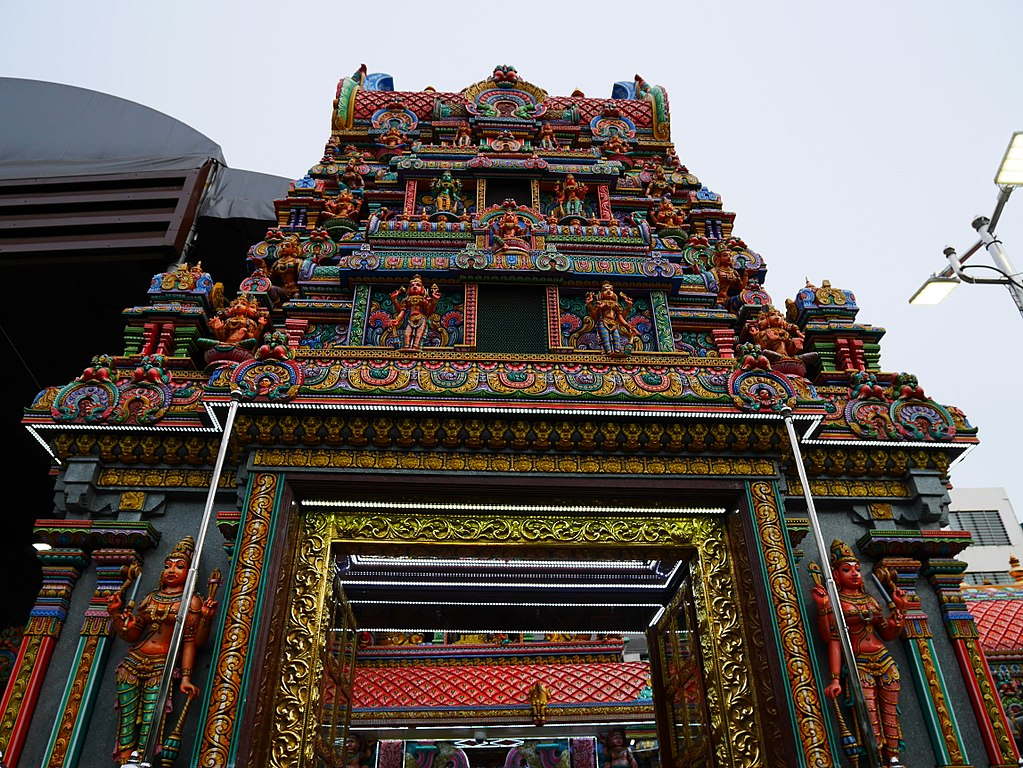 Sri Maha Mariamman Temple is a Hindu temple in Silom, Bangkok