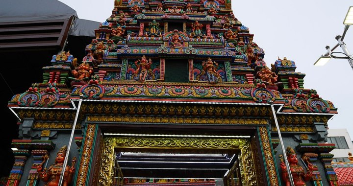 Sri Maha Mariamman Temple is a Hindu temple in Silom, Bangkok
