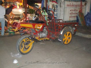 Tricycle-Phitsanulok-Thailand