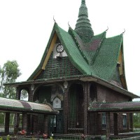 Wat Lan Khuat - The Million Bottle Temple, Sisaket