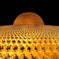 Wat Phra Dhammakaya in Pathum Thani - The Largest Temple in Thailand