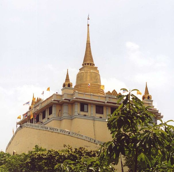 Wat Saket-The-Golden-Mount-Bangkok