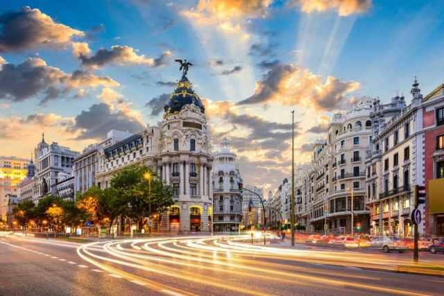 viajar barato por europa - Madrid