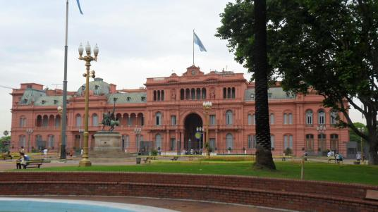 The Presidents house, Plaza de Mayo, Buenos Aires