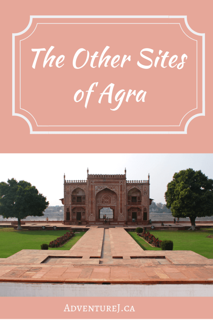 The city of Agra, located in central India, is best known for the Taj Mahal. However, there are a few lesser known but just as impressive sites to see explore in Agra too! #India #travel #traveltips #city #culture #Asia #worldtravel #explore #citysites #Agra