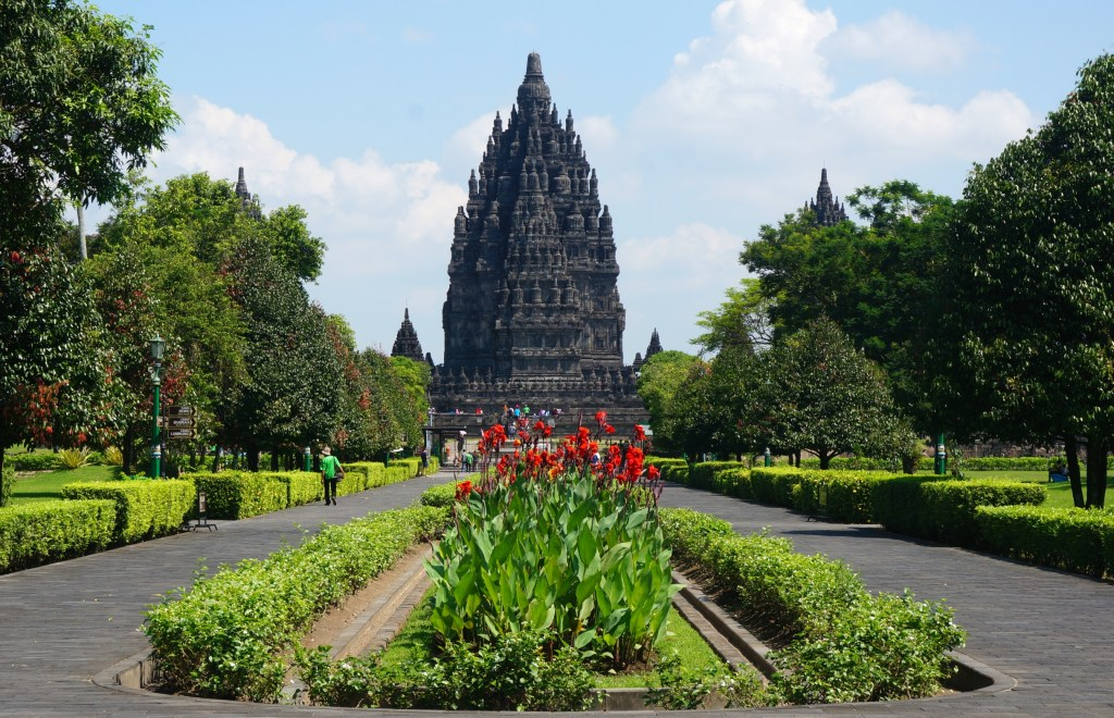 Main entrance to Prambanan Temple