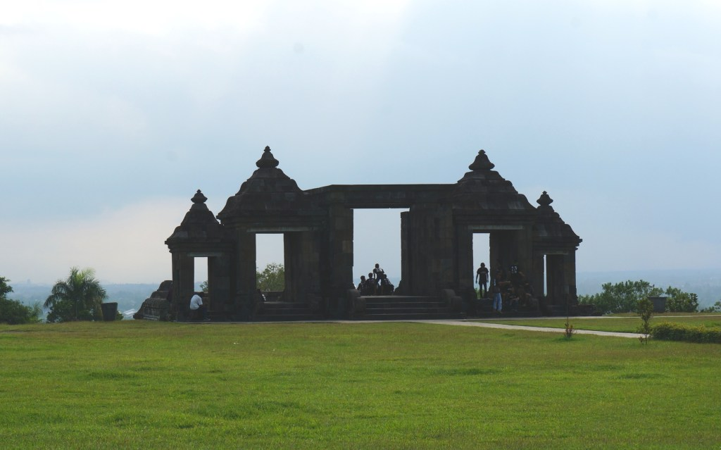 Entrance gate of Ratu Boko complex