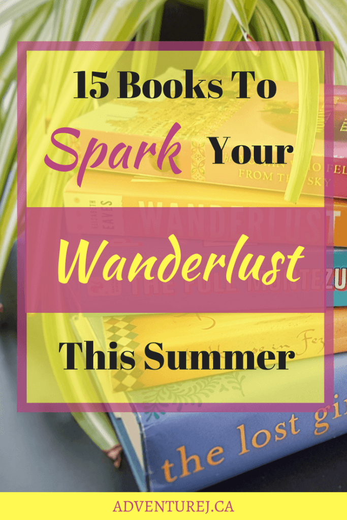 With summer here, everyone is looking for a good book to take to the beach. I've put together this list of some of my favorite books, all about travel! #travel #books #wanderlust #summer #reading #adventure #adventuretravel