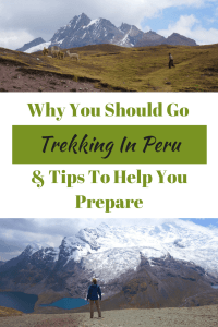Trekking in Peru is world class and there are so many areas and hikes to choose from. It's never a question of shouldyou trek, it's a question of where. #trekking #hike #hiking #Peru #Andes #mountains #mountain #southamerica #outdoors #adventure #explore #alpaca #Cusco