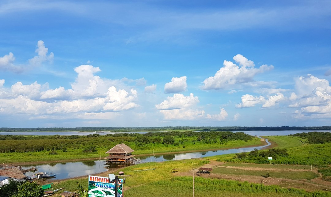 View of the Amazon from Iquitos
