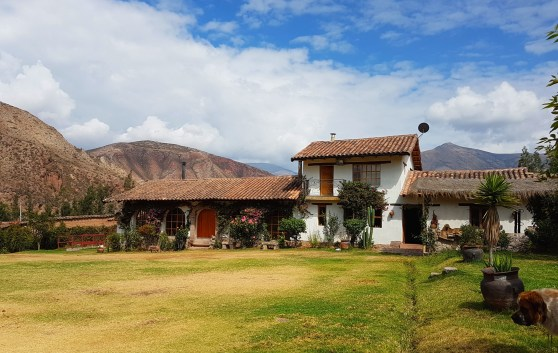 Perol Chico's beautiful farm house in the Sacred Valley.