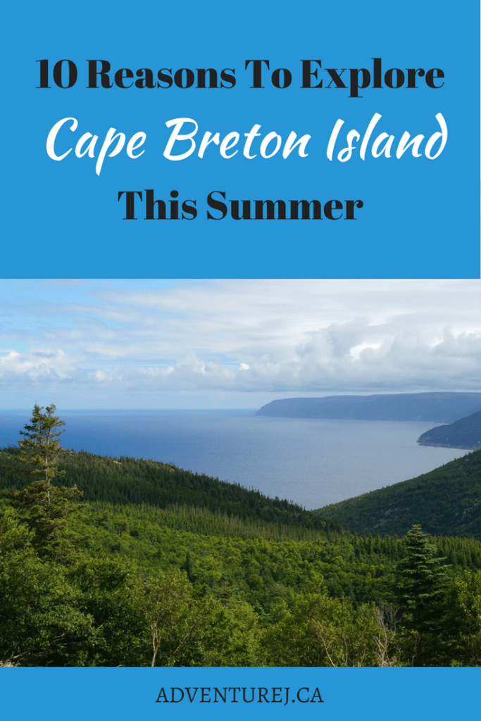Cape Breton Island contains some of Canada's most gorgeous scenery. But there are also many amazing outdoor experiences to be had on this small island. If you want a true outdoor, Canadian experience, here are 10 resons why you should explore Cape Breton Island!   #CapeBretonIsland #CapeBreton #Canada #RoadTrip #Explore #adventure #scenicviews #views #hiking #wildlife #sunrise #sunset #cabottrail #CapeBretonHighlands #NationalPark #ParksCanada #camping