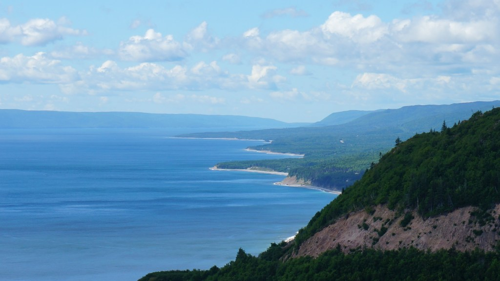 Stunning views on Cape Breton Island.