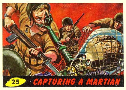 Mars Attacks! Card nr 3