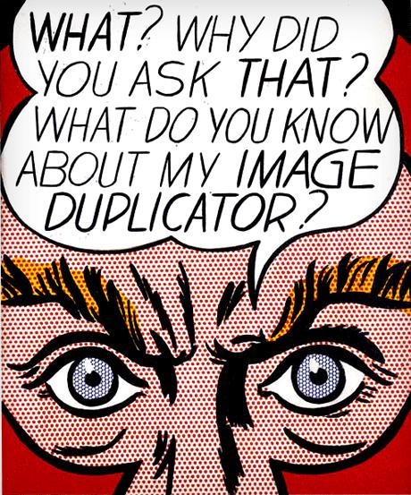 Roy Lichtenstein Image Duplicator