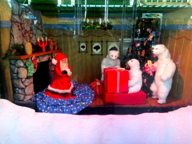 One of the Myer Christmas Windows