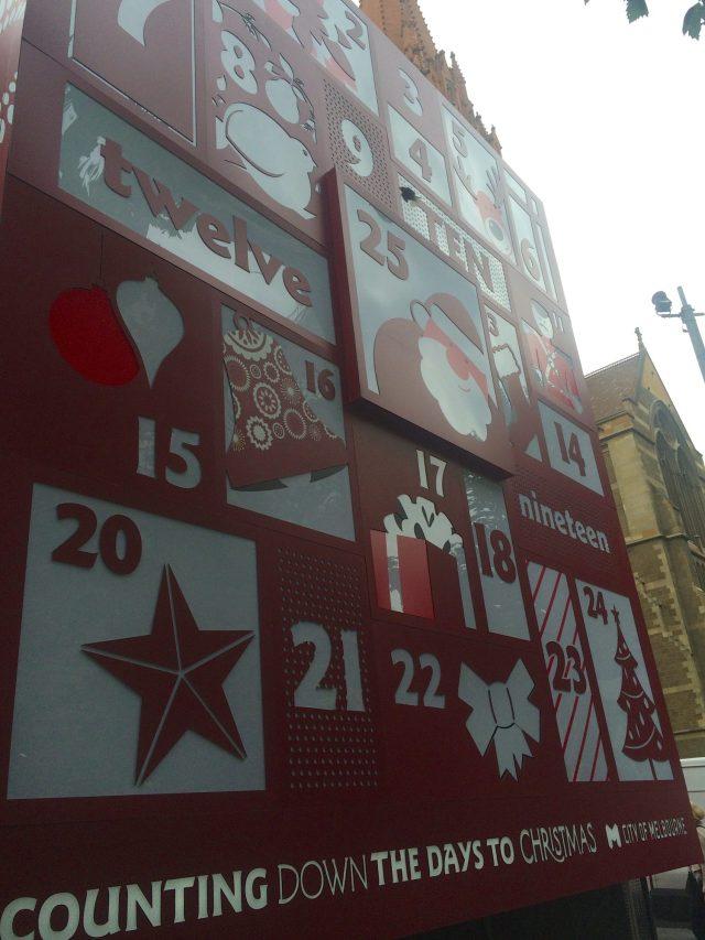 Countdown to Christmas at Christmas Square