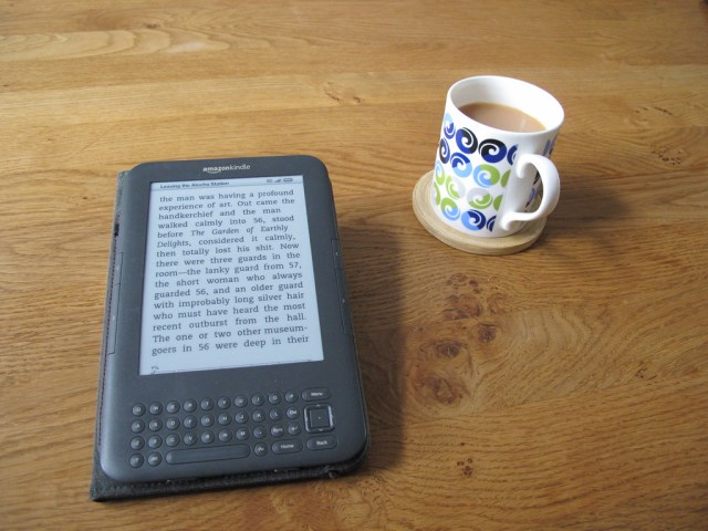 Kindle and tea