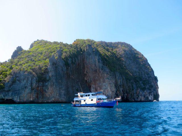 Ko Phi Phi Island paradise partying booze cruise