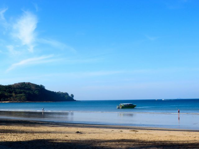 The beautiful beach of Ko Lanta!
