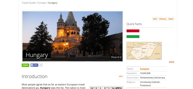 A sneak preview of Travellers Point's Travel Guide for Hungary