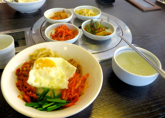 what to eat in south korea seoul bibimbap
