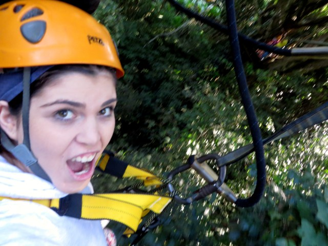 Zip lining in Chiang Mai
