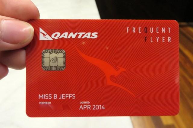 qantas cash frequent flyer