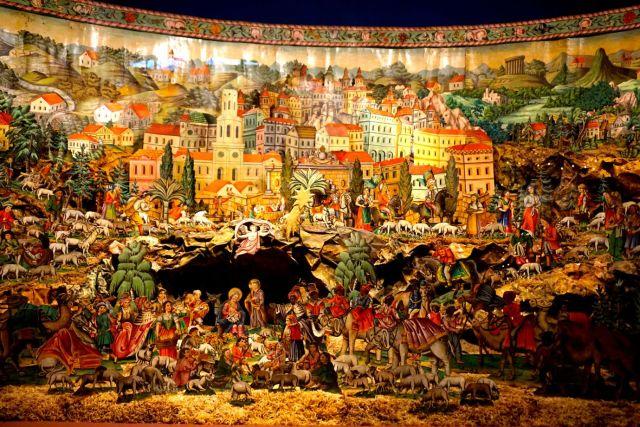 Paper Nativity Scene in Bamberg