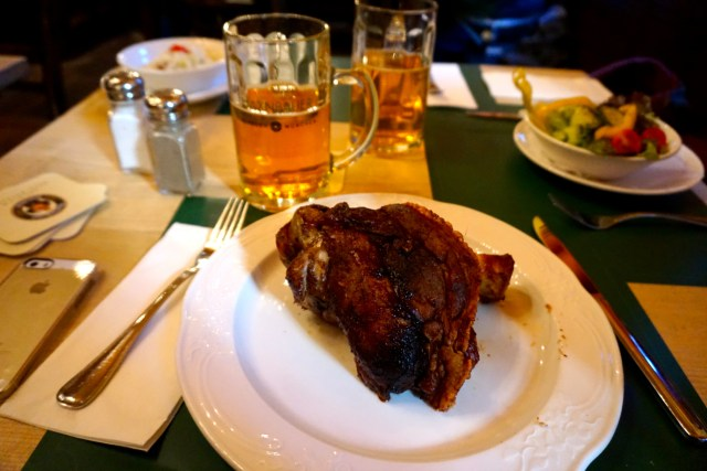Pork Knuckle! tthree to four day itinerary for Munich